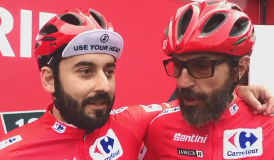 """Los """"tapaos"""" de la Vuelta y el Cubo de Roglic"""