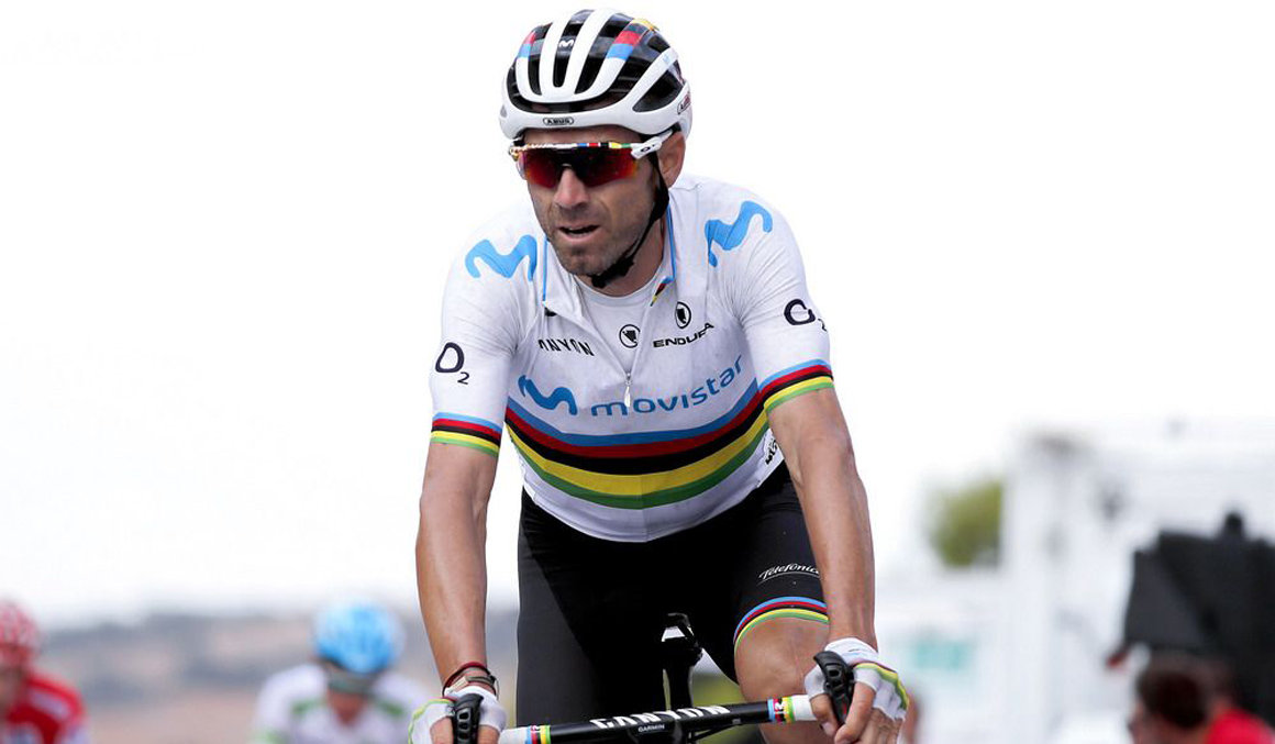 Mundial: Valverde encabeza la expedición española, con 32 ciclistas