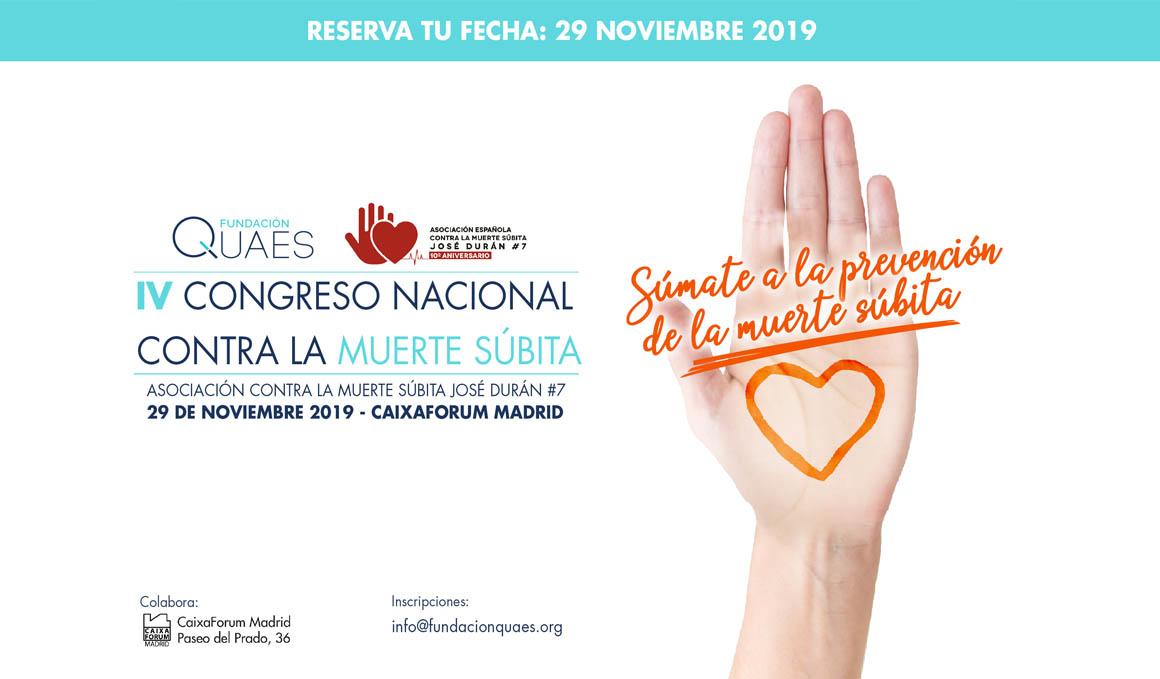 IV Congreso Nacional de la Asociación Española contra la Muerte Súbita
