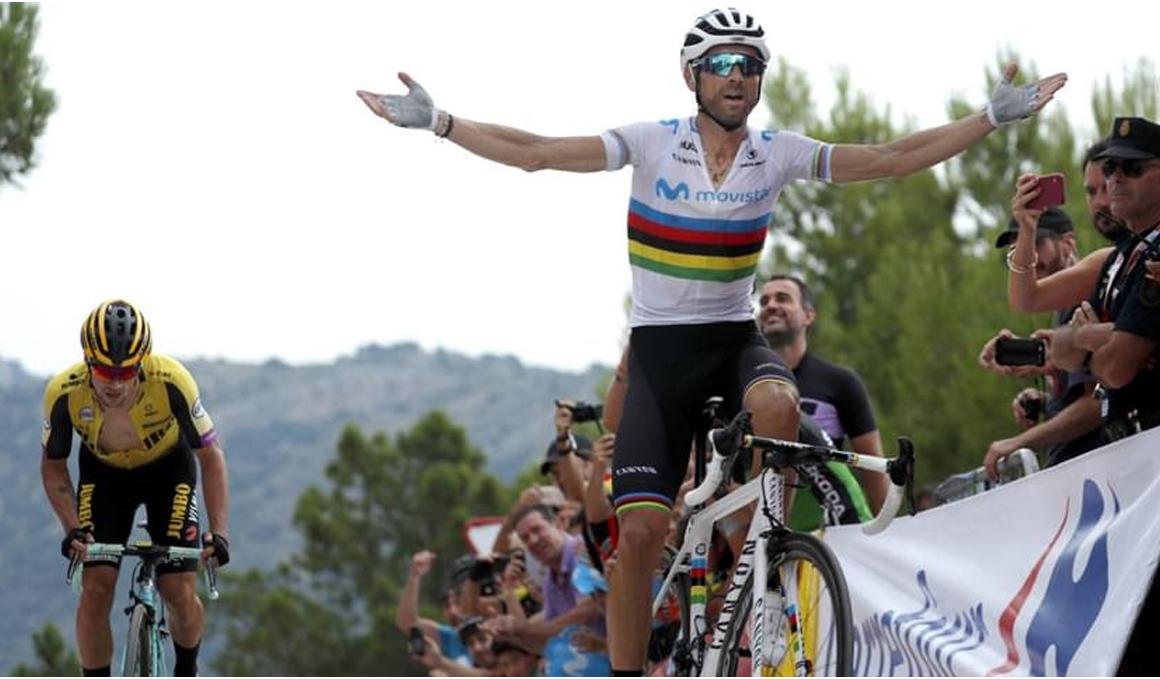 Alejandro Valverde, campeón de la I Copa de España de Ciclismo Profesional