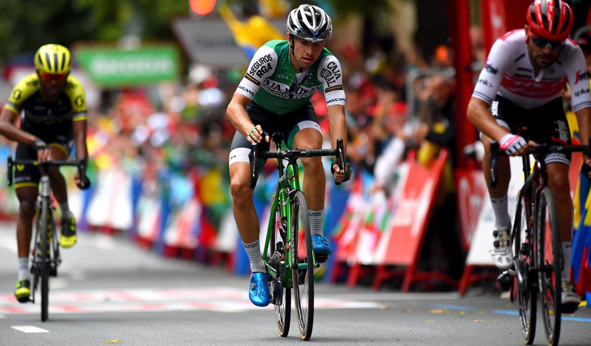 """Jonathan Lastra (Caja Rural-RGA): """"He conseguido mis objetivos en La Vuelta"""""""