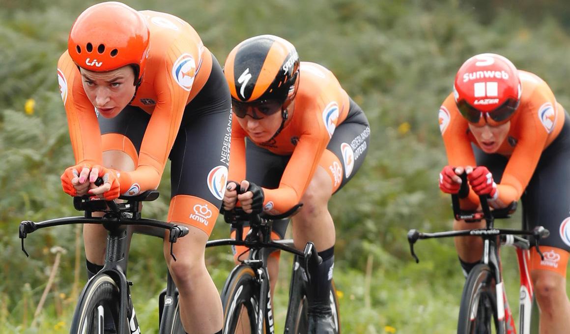 Yorkshire 2019: Holanda, primera campeona del mundo CRE mixta de relevos
