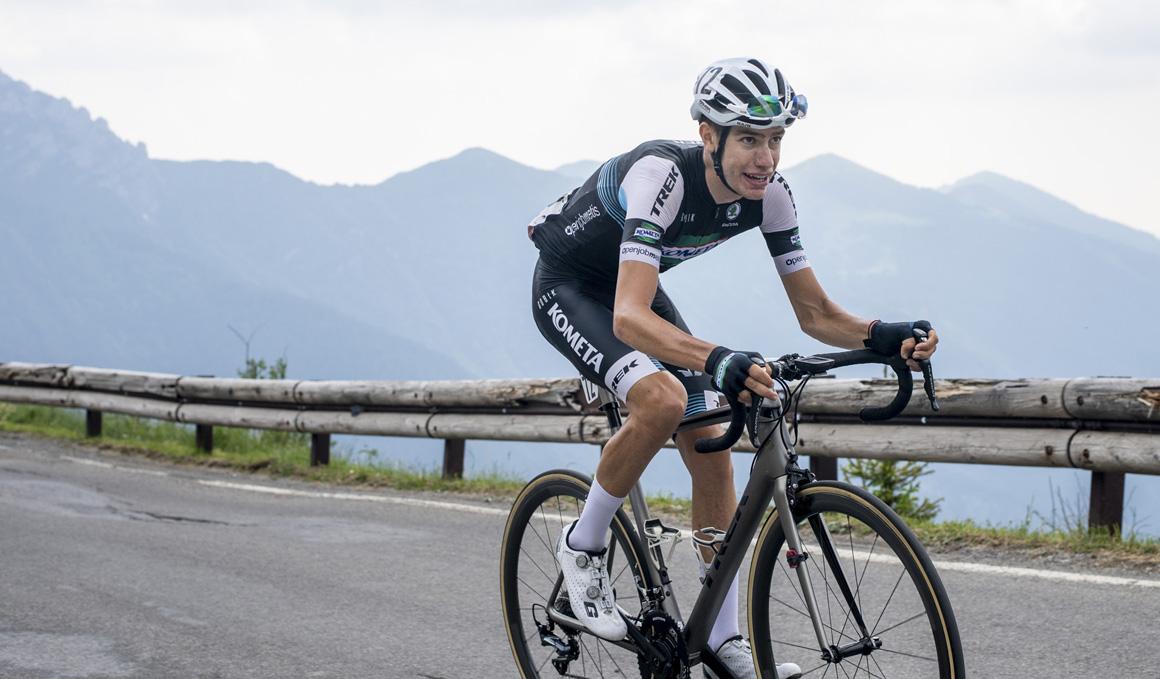 Sergio García, primer refuerzo del Kometa Cycling Team para 2020