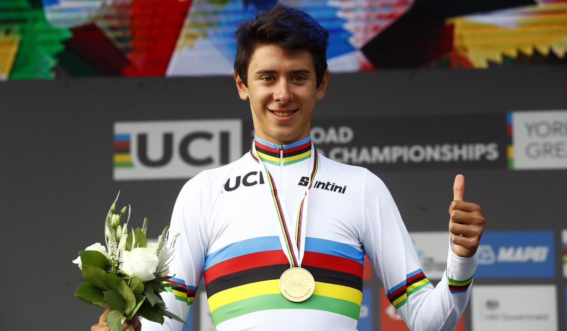 Antonio Tiberi, campeón del Mundo junior CRI tras sobreponerse a una avería
