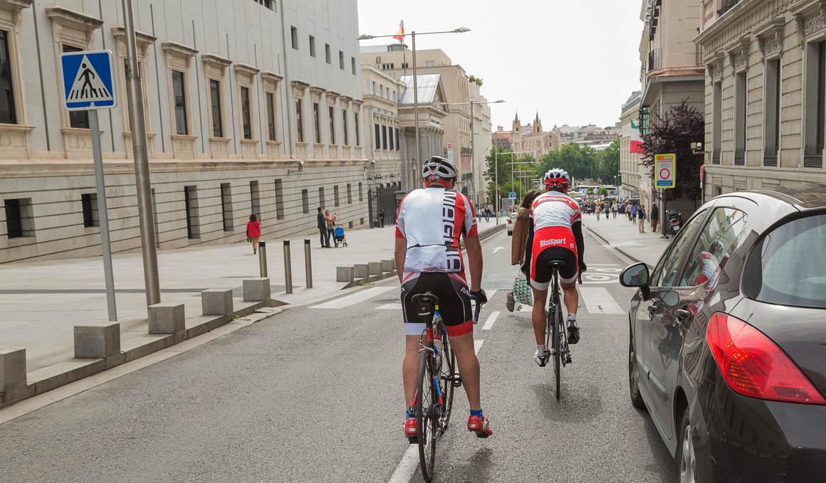 El 56% de los españoles no usa la bici por miedo