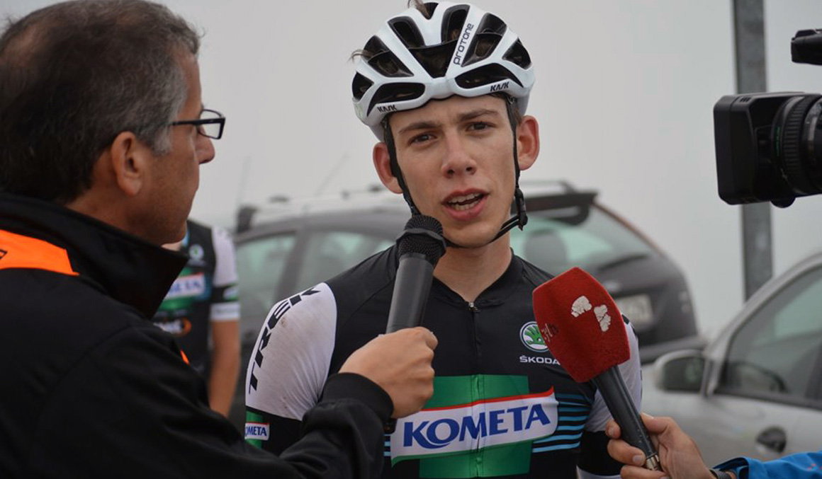 Alessandro Fancellu, segundo fichaje del Kometa Cycling Team 2020