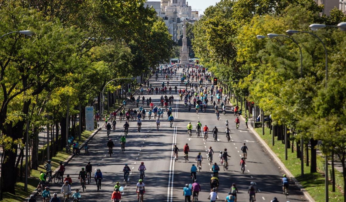 La Fiesta de la Bici de Movistar volverá a llenar las calles de Madrid