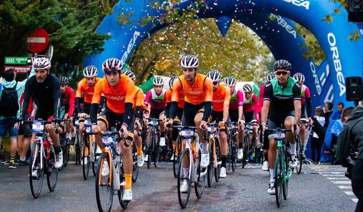 Primera edición de la Orbea Klasika Bilbao-Bizkaia con 1.200 ciclistas