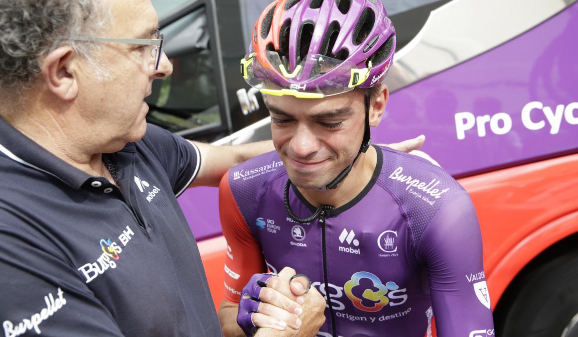 Nuno Bico se retira del ciclismo por recomendación médica