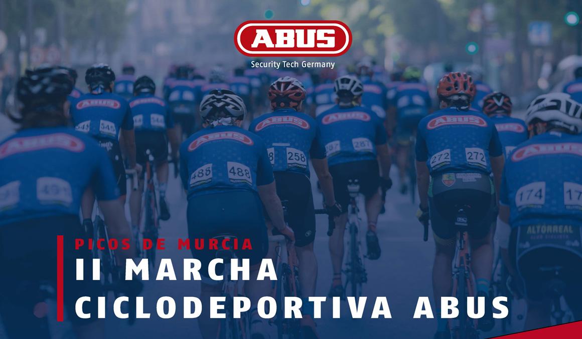 La II Marcha Ciclodeportiva ABUS - Picos de Murcia tendrá lugar el 9 de noviembre