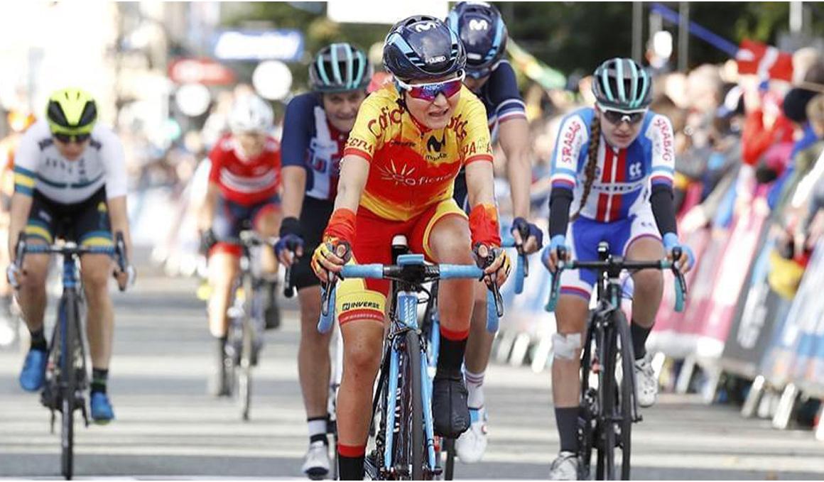 Eider Merino, 9ª en el Giro dell'Emilia