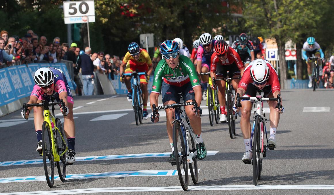 Sheyla Gutiérrez, 7º puesto al sprint en el G. P. Beghelli