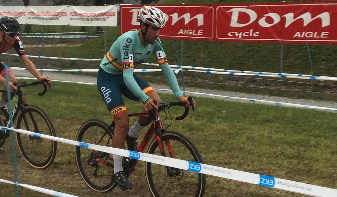 EKZ Cross Tour: Felipe Orts, segundo en Aigle (Suiza)