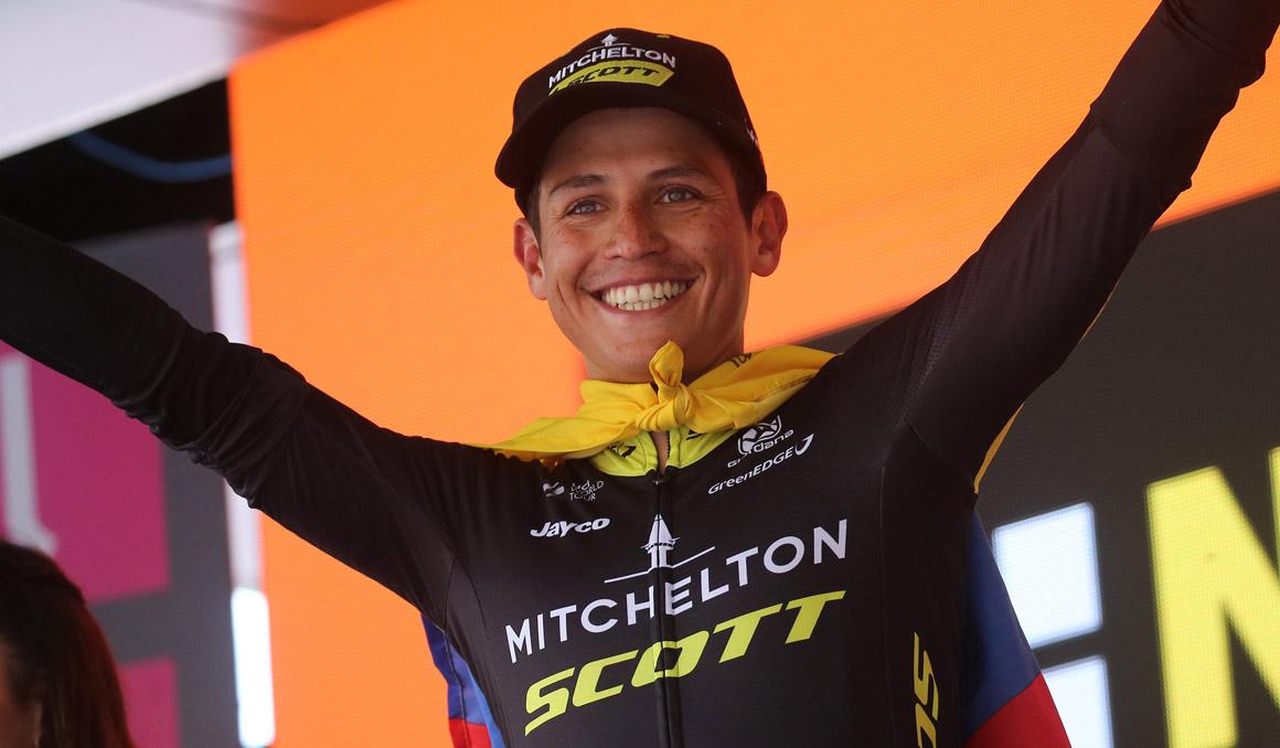 Esteban Chaves renueva con Mitchelton-Scott hasta 2021