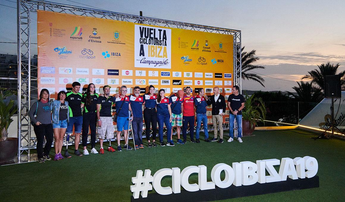 En marcha la XVII edición de la Vuelta Cicloturista a Ibiza Campagnolo