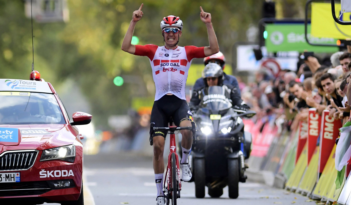 Jelle Wallays (Lotto Soudal) repite en París-Tours