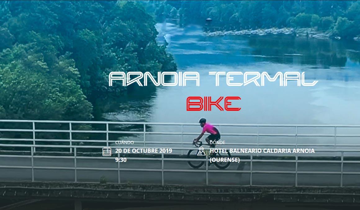 Últimos dorsales para la Arnoia Termal Bike