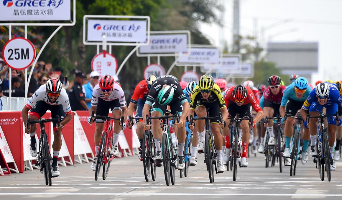 Fernando Gaviria se reencuentra con la victoria en el Tour de Guangxi