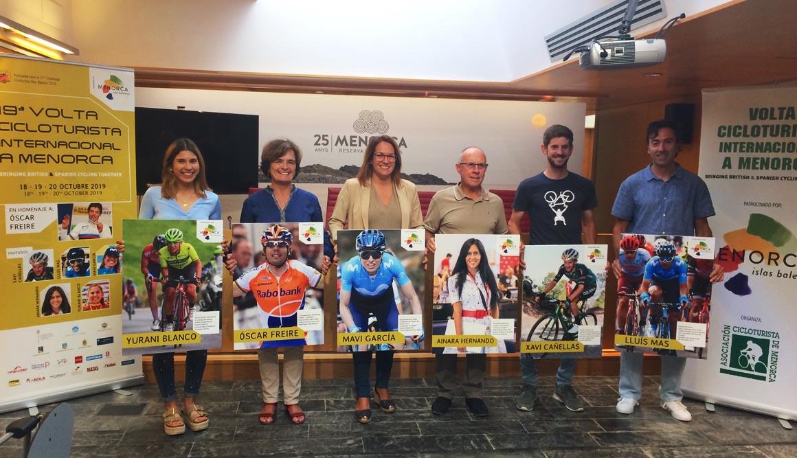 Homenaje a Óscar Freire en la decimonovena edición de la Vuelta Cicloturista a Menorca