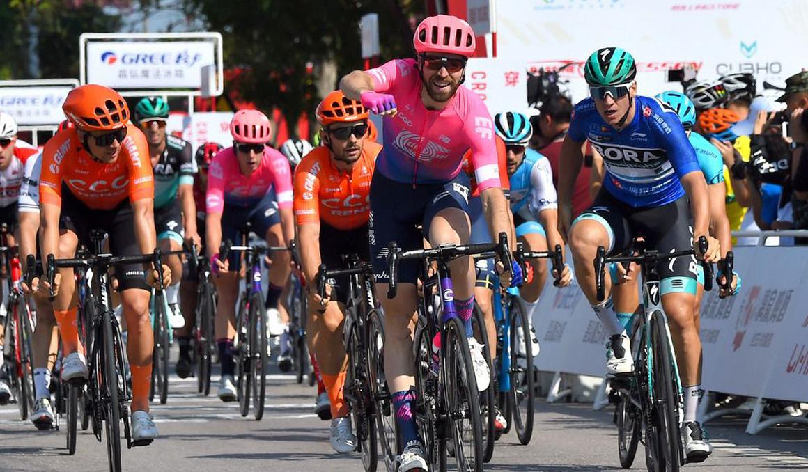 Tour de Guangxi: McLay gana la 2ª etapa; Ackermann, nuevo líder