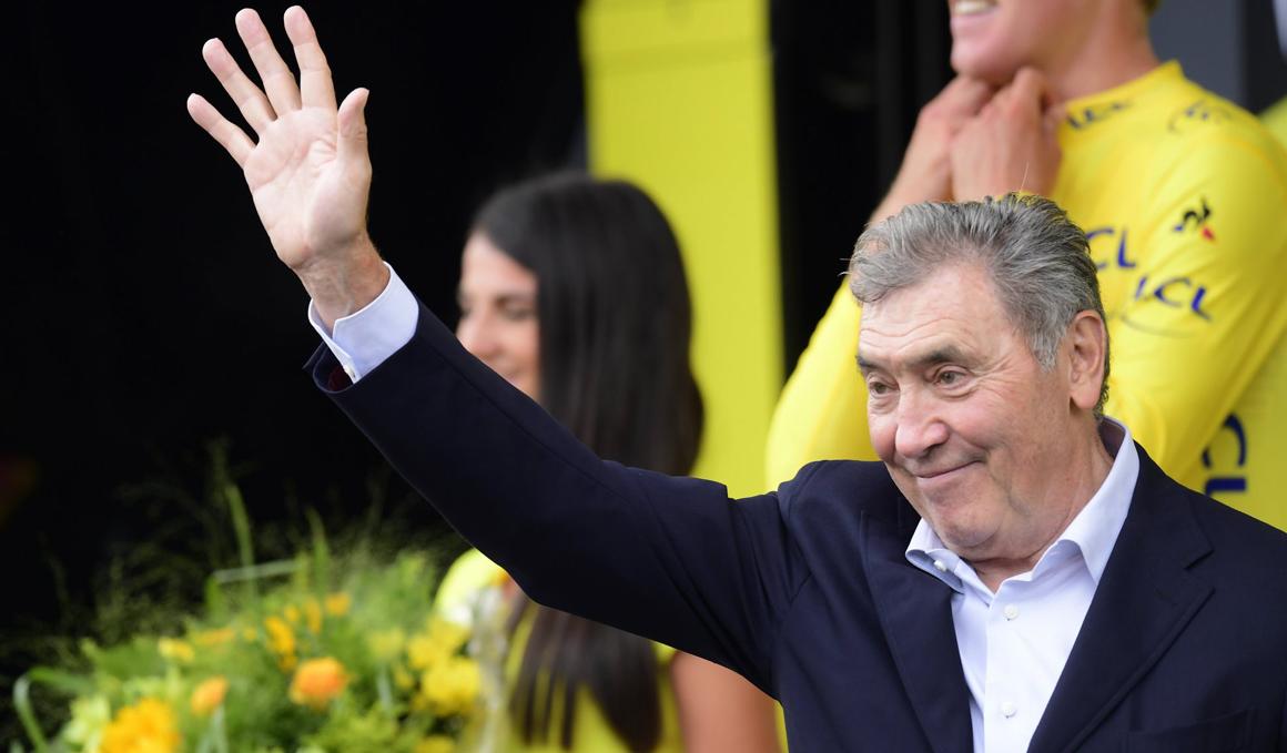 Eddy Merckx sale del hospital tras su accidente