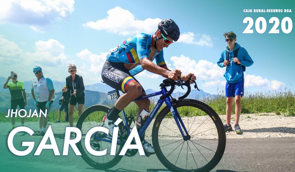 Jhojan García, más talento en la montaña para Caja Rural-Seguros RGA