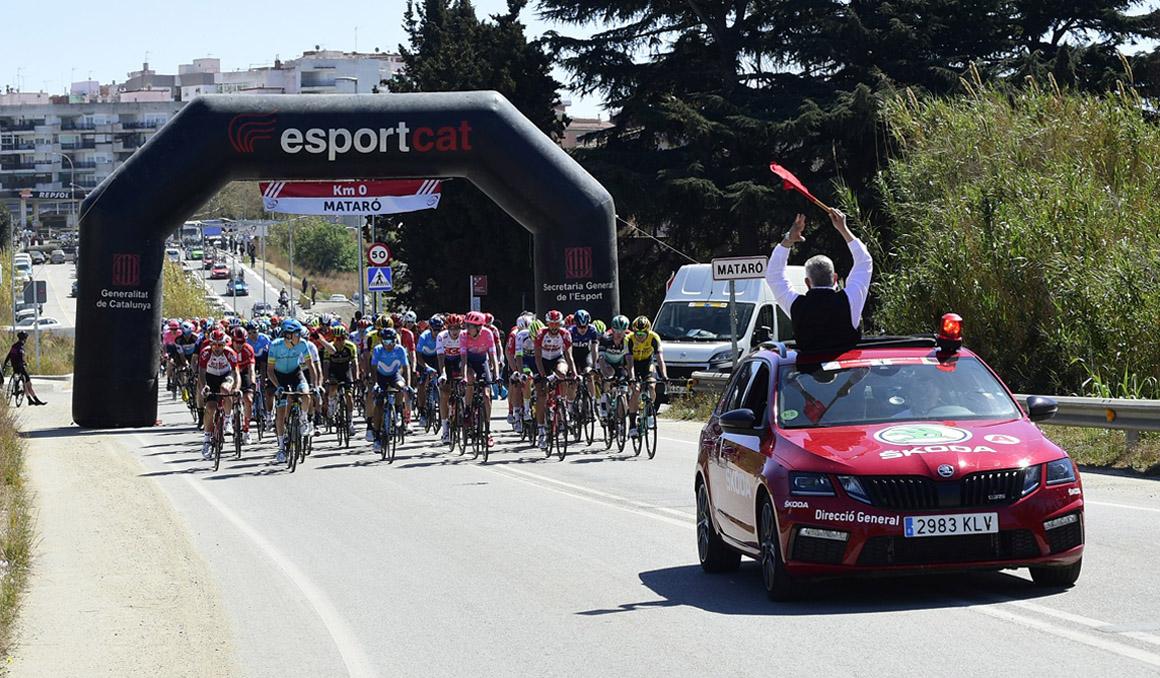 Mataró tendrá una llegada de la Volta Ciclista a Catalunya 38 años después