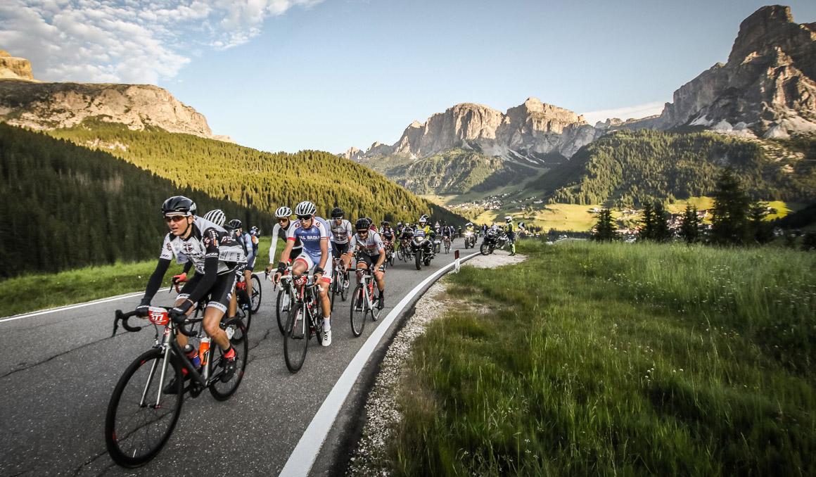 La 34ª Maratona dles Dolomites, en marcha