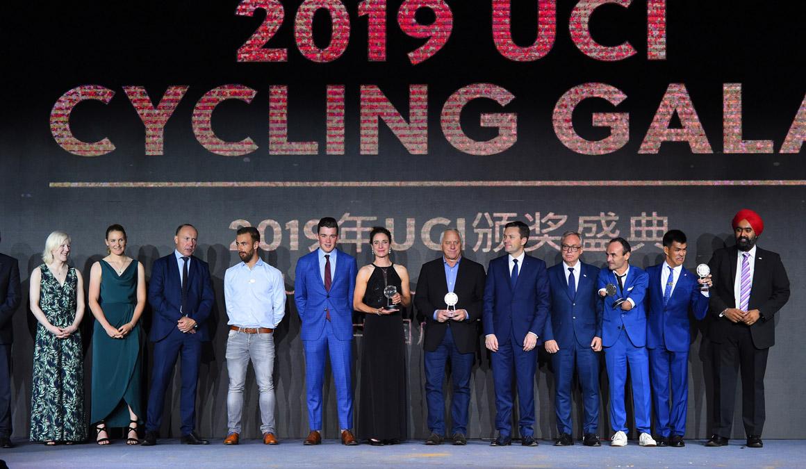 La UCI premia a los mejores de 2019 en su Gala anual