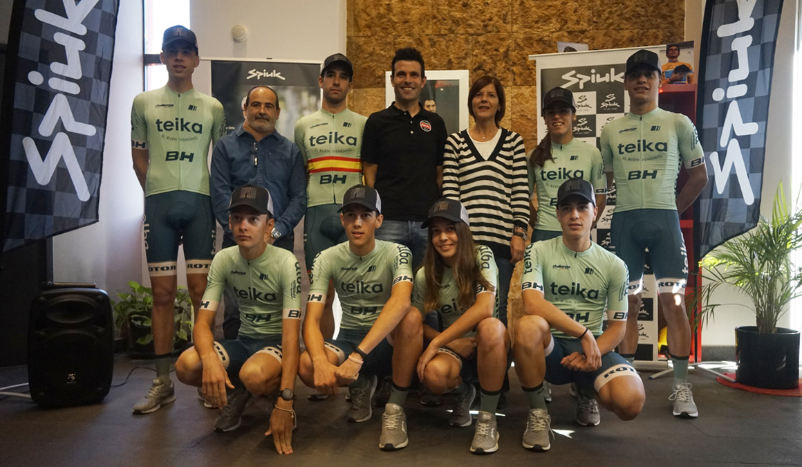 Spiuk presenta su apuesta por el ciclocross, con Felipe Orts y Ruiz de Larrinaga
