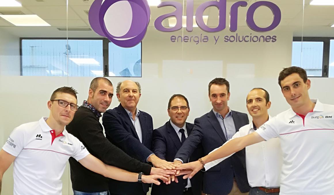 Burgos-BH: acuerdo de patrocinio con Aldro y renovación de Jesús Ezquerra