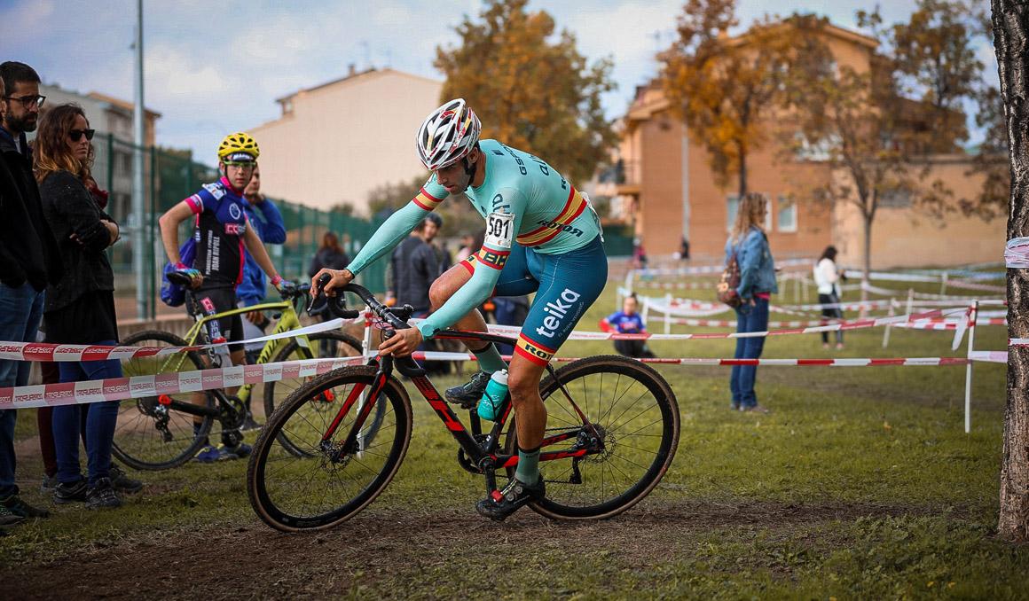 Felipe Orts afronta este domingo en Italia el Campeonato de Europa de ciclocross