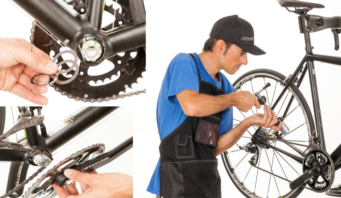 Mantenimiento sistema de pedalier BB30