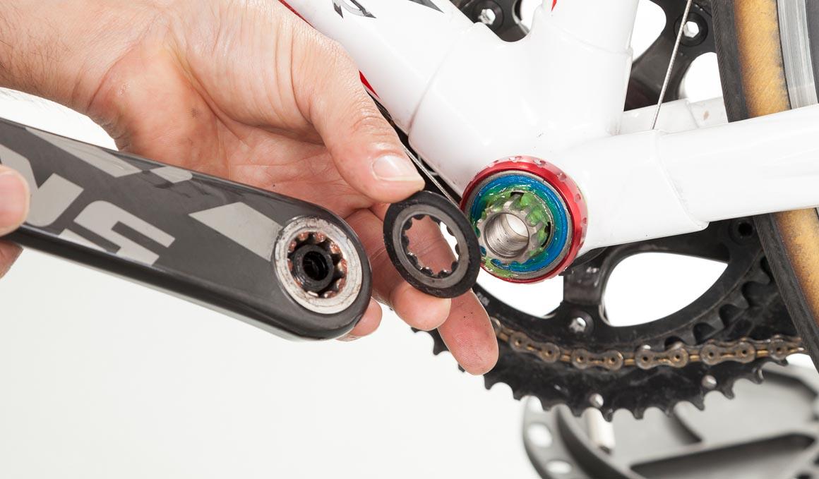 Mantenimiento del conjunto pedalier GPX de rosca
