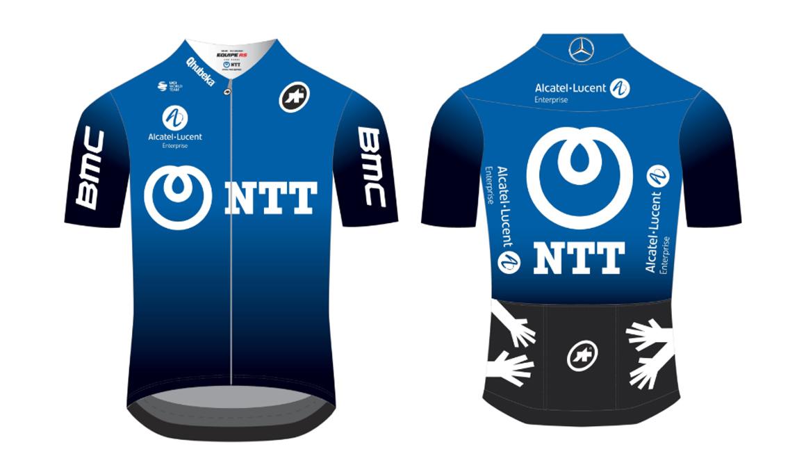 Dimension Data cambia de nombre a NTT Pro Cycling y presenta su imagen para 2020