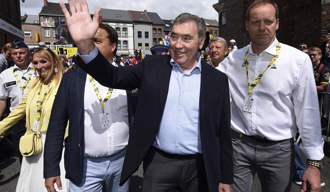 Eddy Merckx revela la gravedad del accidente que sufrió hace un mes