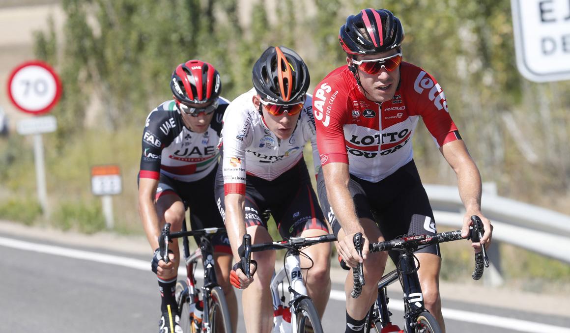 Ejea de los Caballeros será llegada de la 7ª etapa de la Vuelta 2020