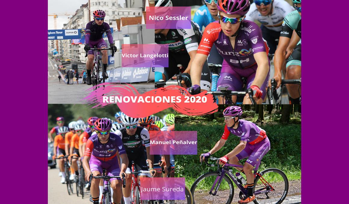 Burgos-BH renueva a Peñalver, Sureda, Sessler y Langelotti