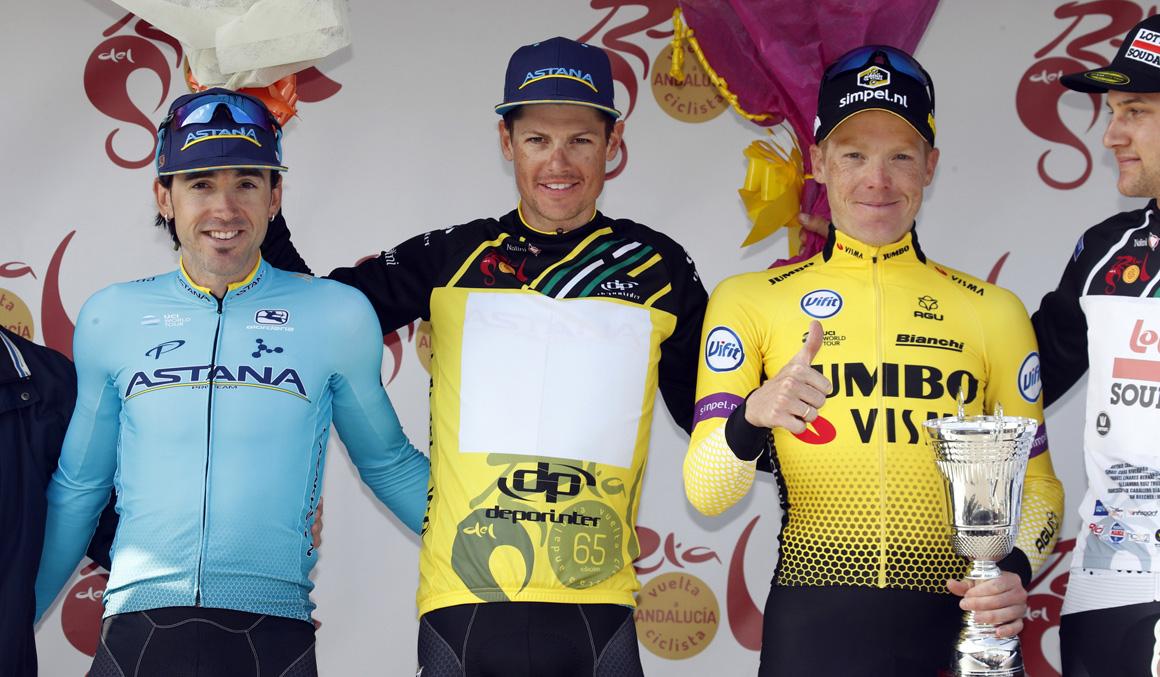Jakob Fuglsang defenderá su título en la Vuelta a Andalucía