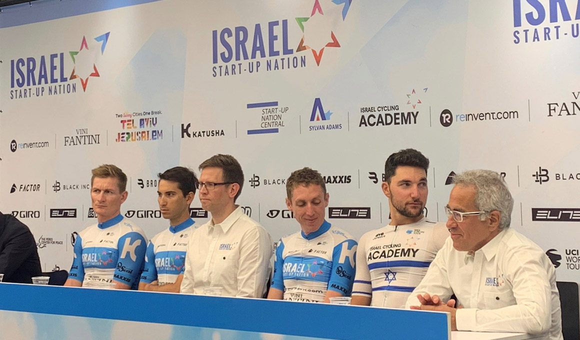 Presentado el Israel Start-Up Nation, el primer equipo israelí World Tour