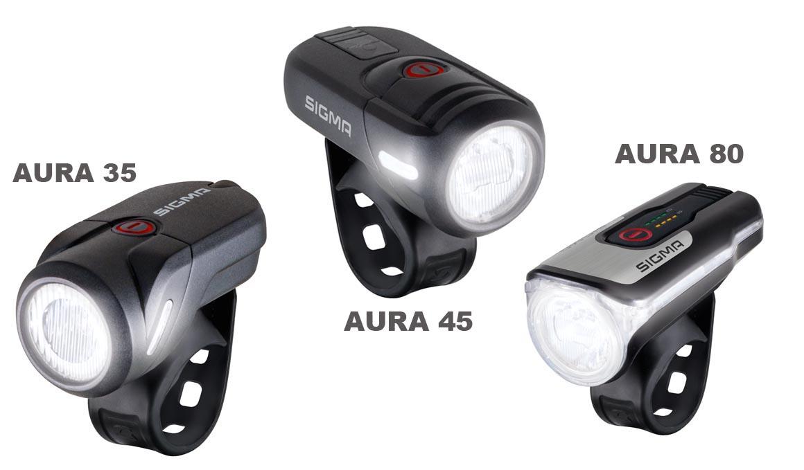 SIGMA Aura 35, 45 y 80