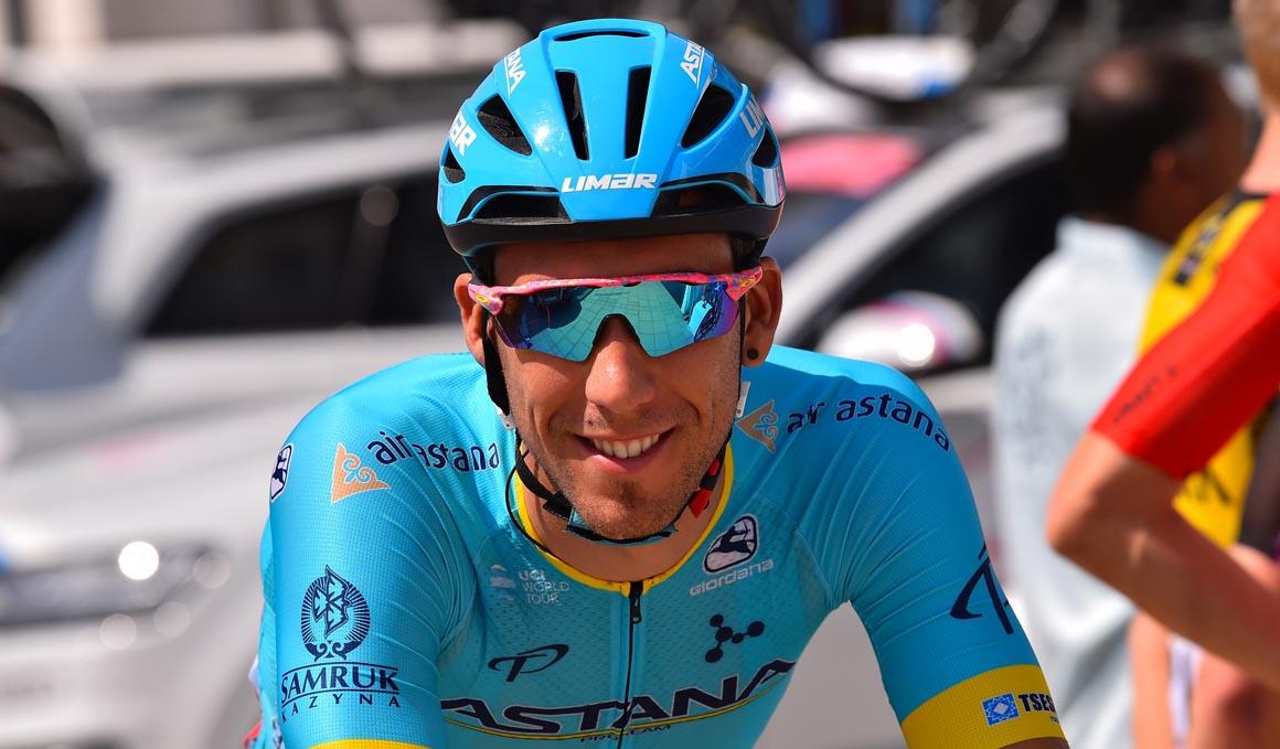 Omar Fraile, el gran remero de Astana
