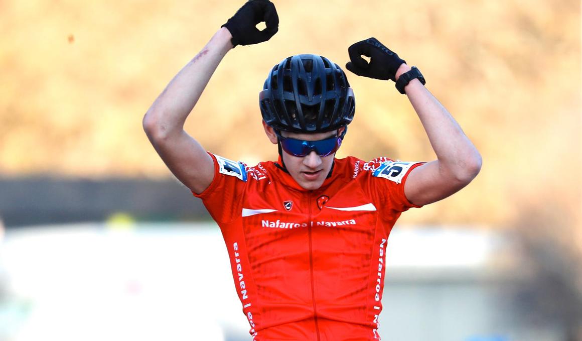 Igor Arrieta, nuevo Campeón de España júnior de Ciclocross