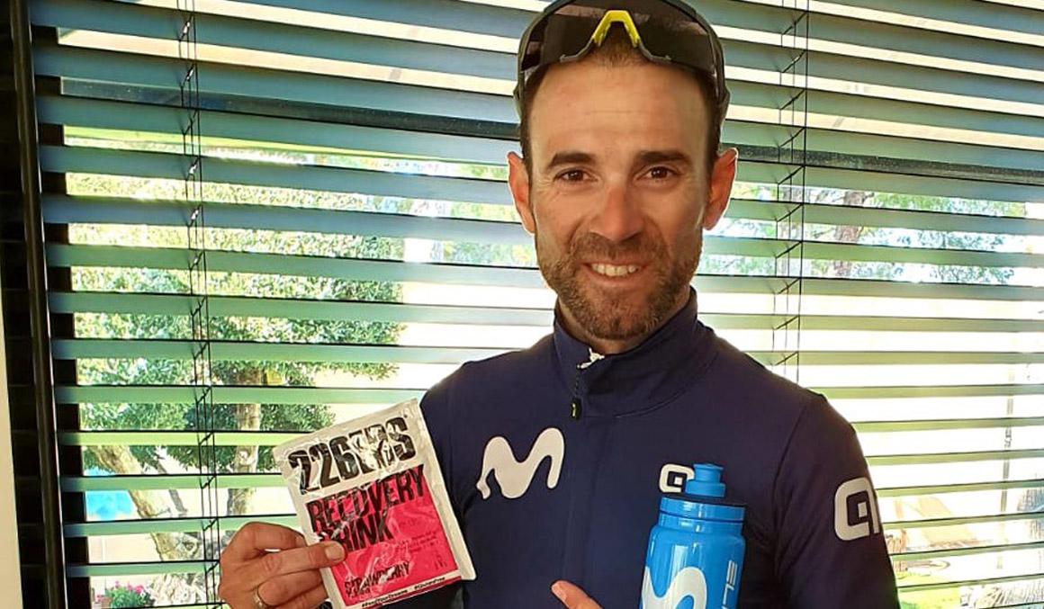 226ERS, nutrición deportiva para los ciclistas del Movistar Team