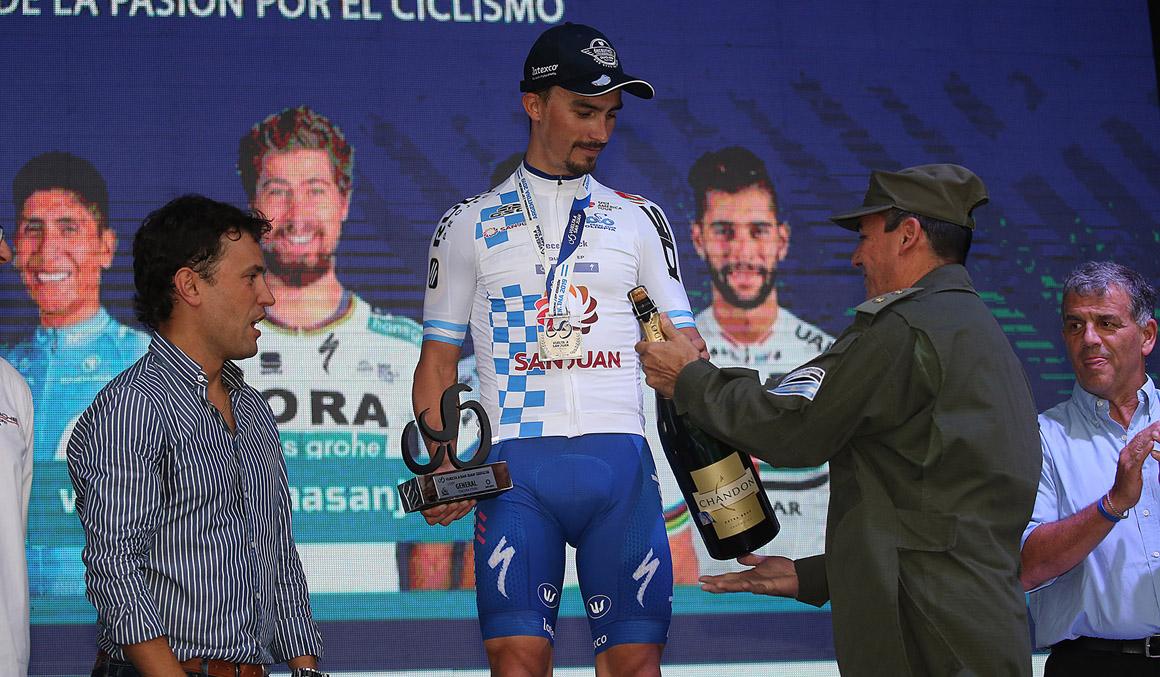 Alaphilippe regresa a la Vuelta a San Juan para dar a inicio a su temporada