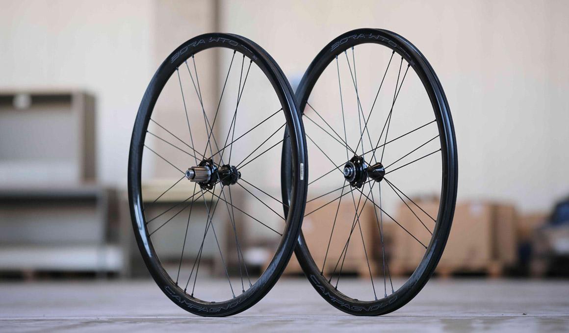 Campagnolo presenta las polivalente ruedas Bora WTO33