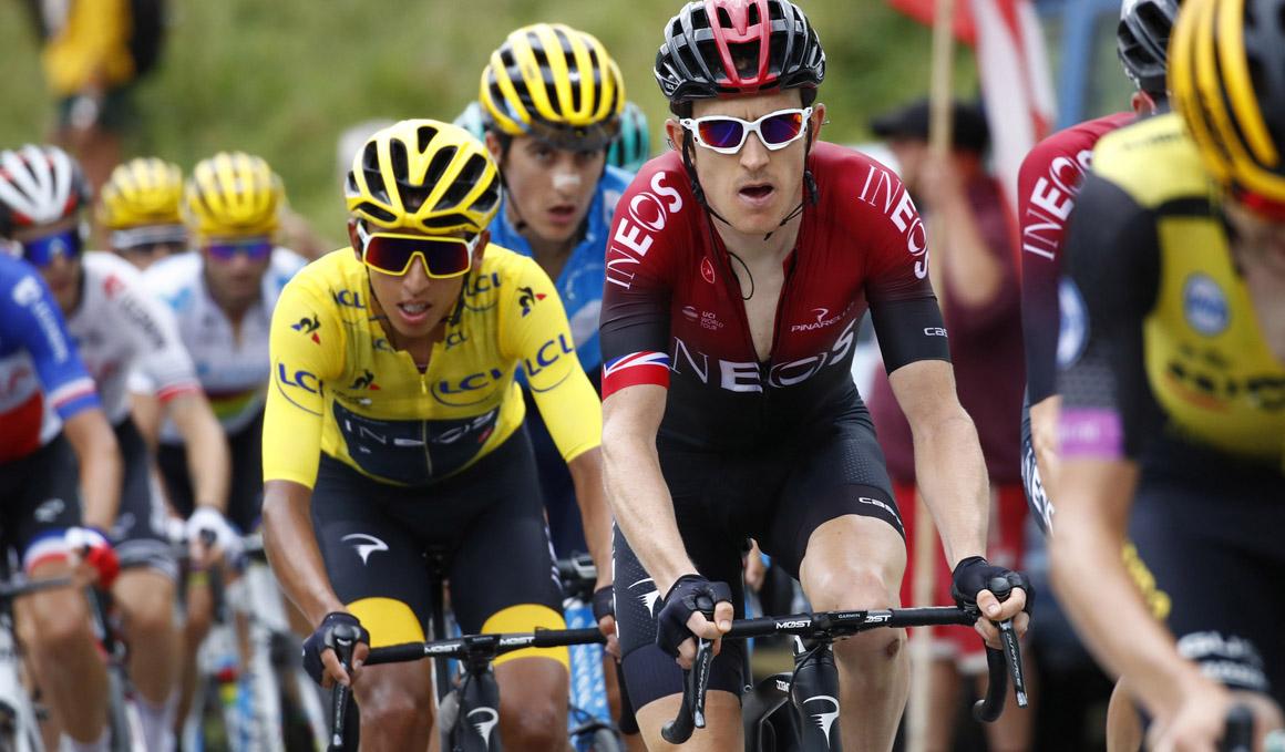 Egan Bernal y Geraint Thomas liderarán al Team Ineos en el Tour