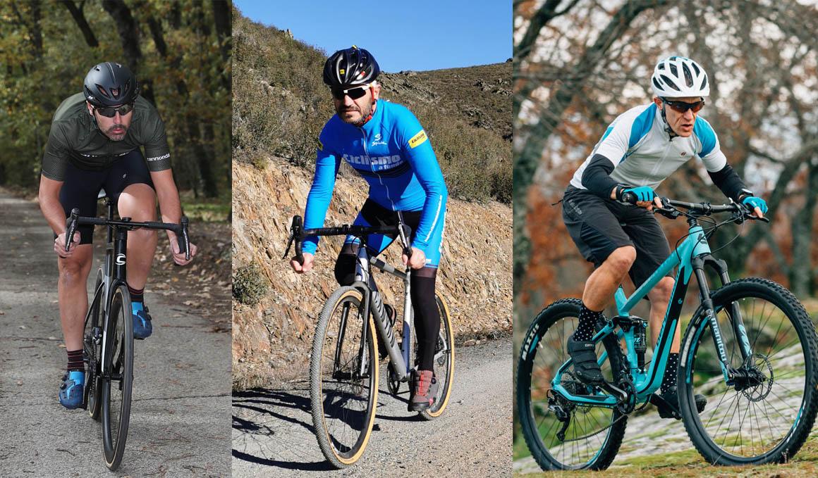 La eficiencia en el pedaleo ¿bici de carretera, gravel o mountain bike?