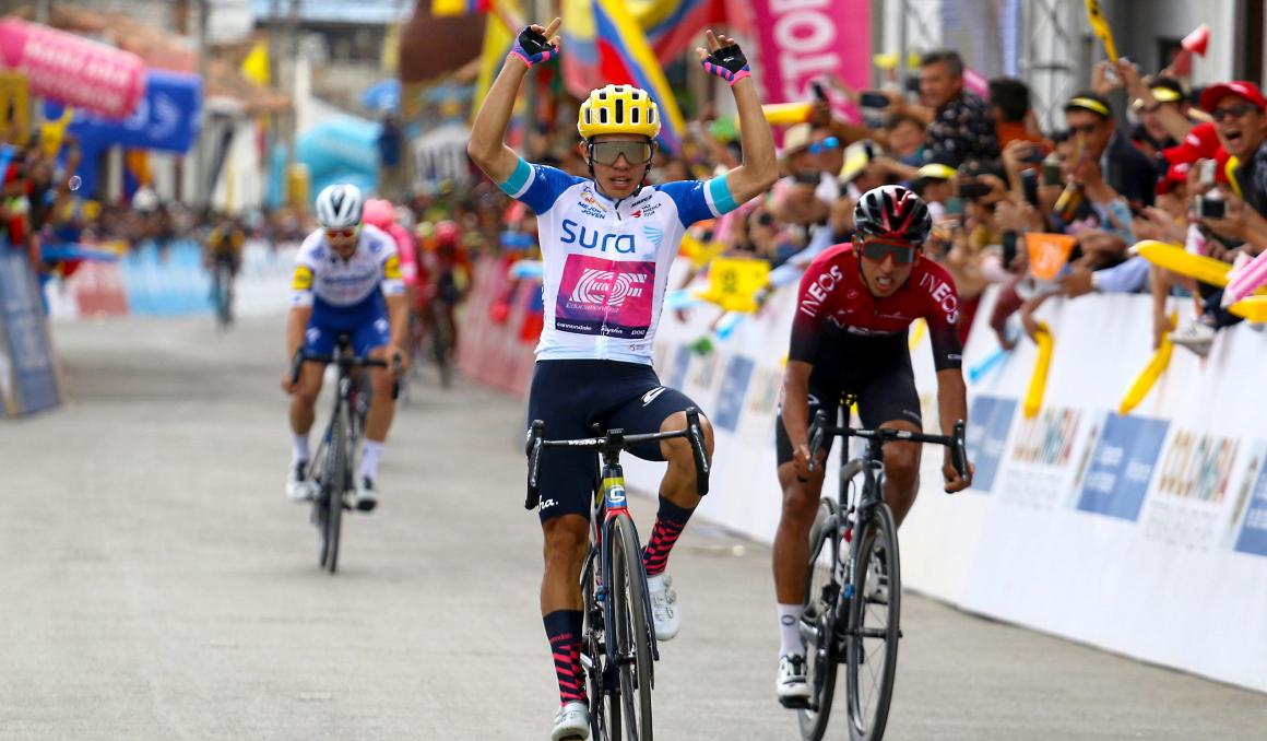 Sergio Higuita ya lidera el Tour Colombia