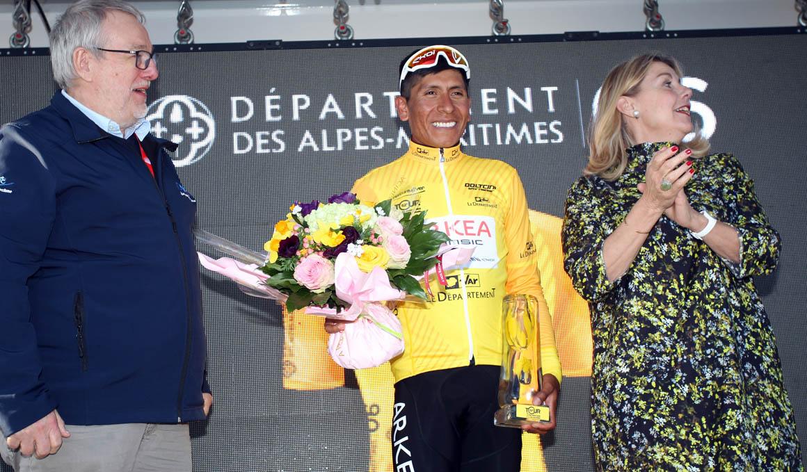 Haut Var: Quintana conquista el Col d'Eze
